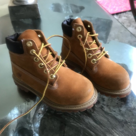 Classic Timberland Boots for girls!